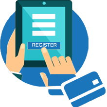Online Registration with Payment Gateway Integration
